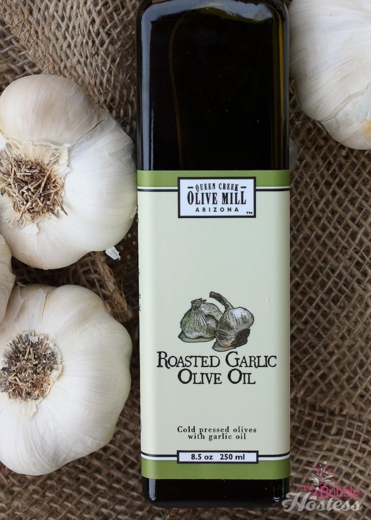 QCOM Roasted Garlic Olive Oil