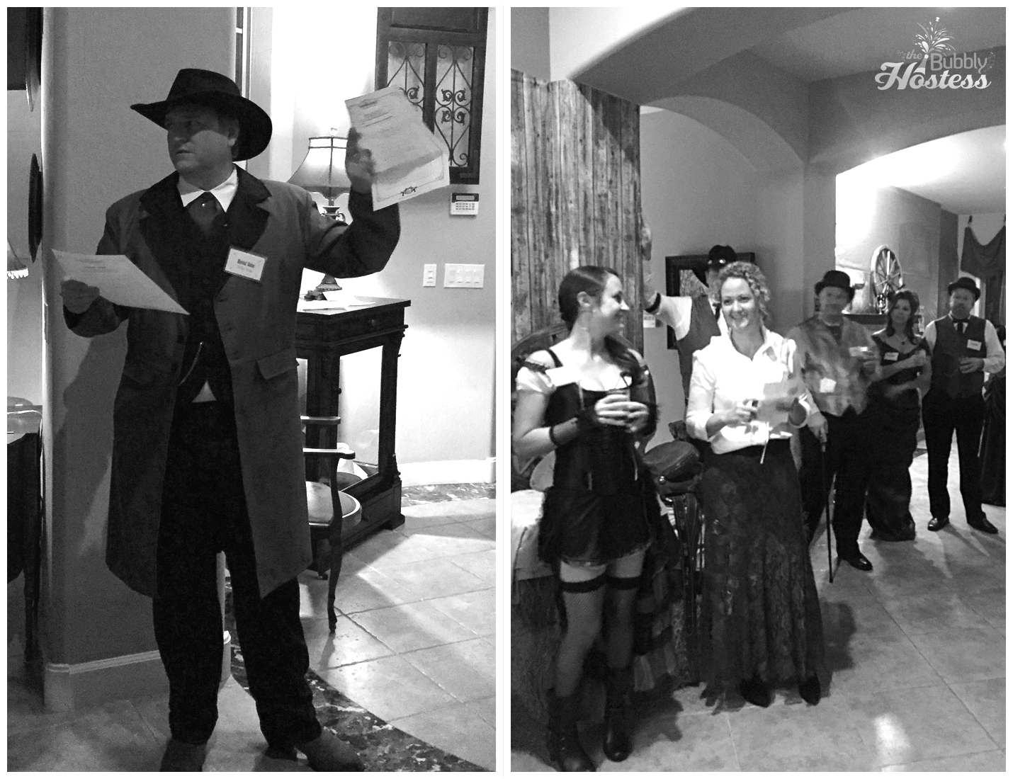 Murder At The Deadwood Saloon - A Murder Mystery Party Old West Costumes| The Bubbly Hostess