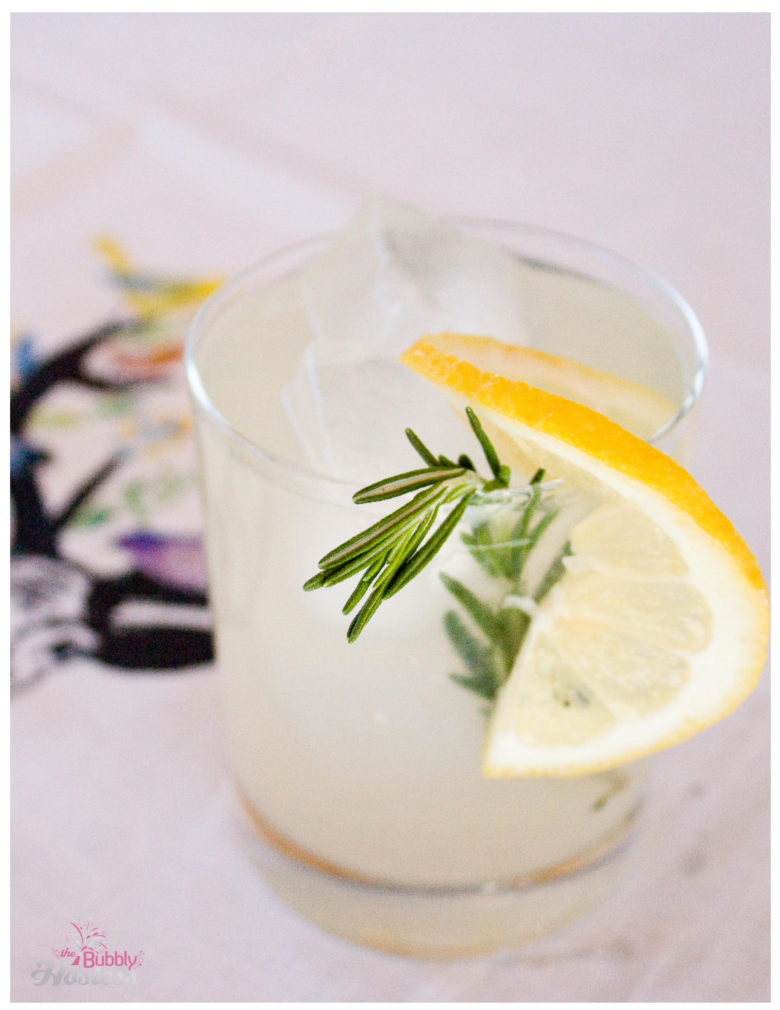 Rosemary Lemon Margaritas | The Bubbly Hostess