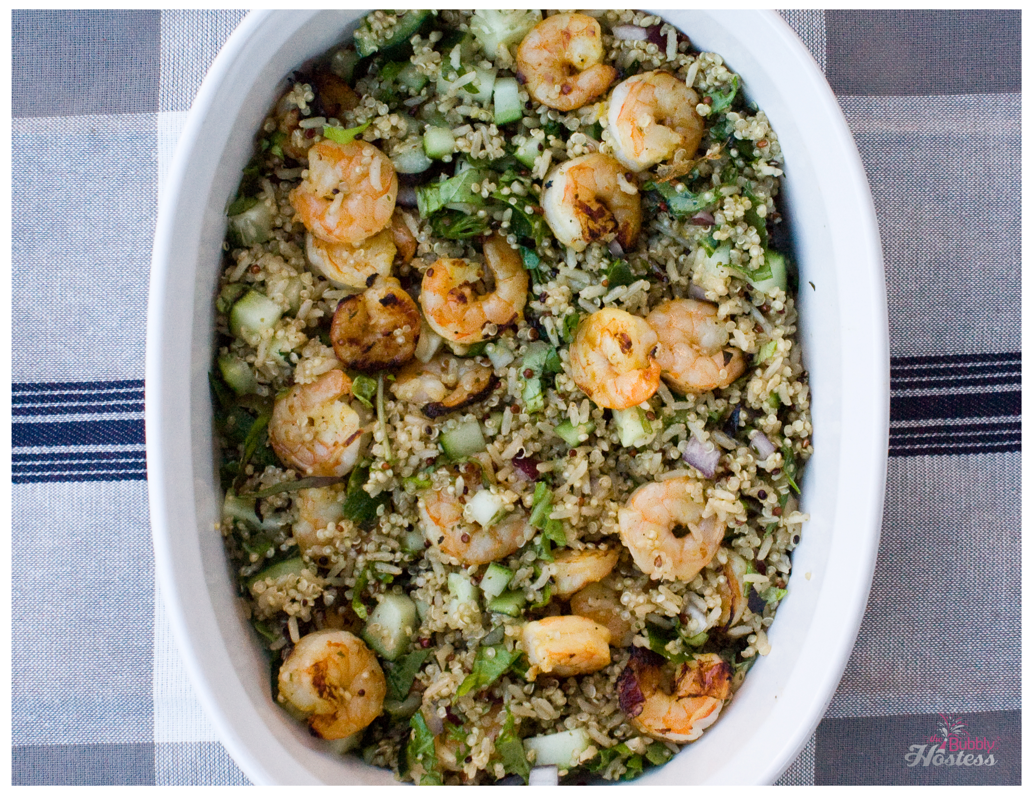 Citrus Grilled Shrimp with Rosemary Quinoa – The Bubbly ...