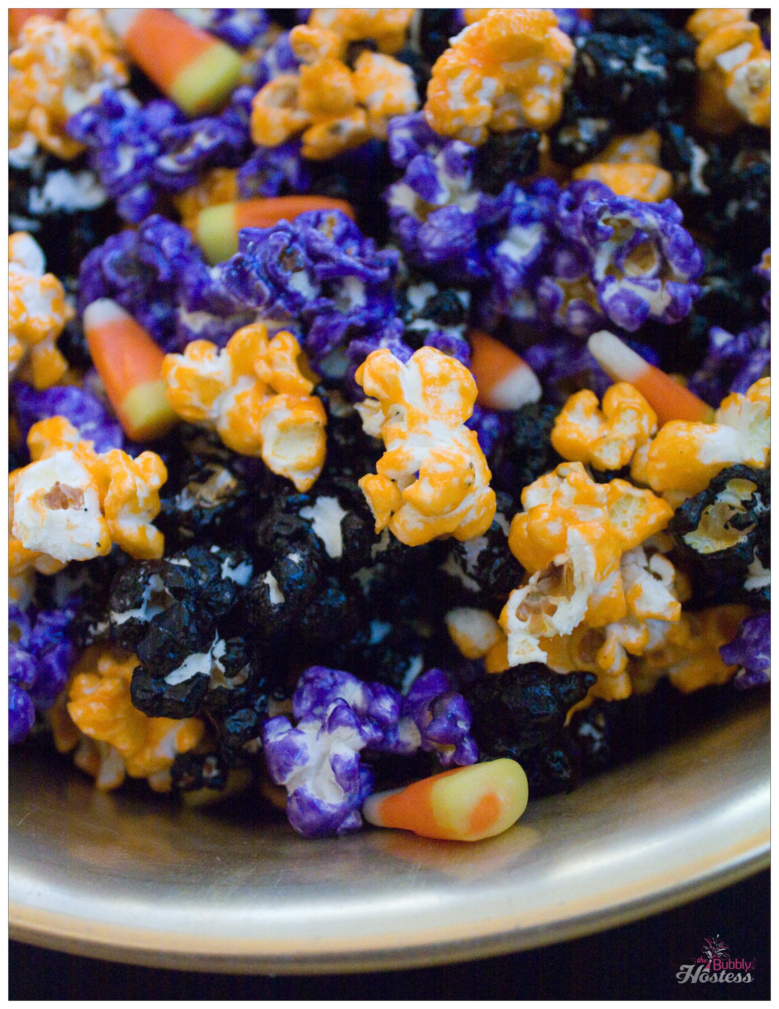 Halloween Popcorn Snack | The Bubbly Hostess
